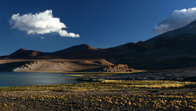 Laguna Santa Rosa en la última hora de la tarde Foto de archivo