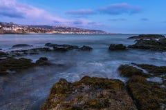 Laguna Schemering Royalty-vrije Stock Fotografie
