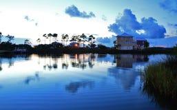 Laguna sjö Alabama royaltyfri fotografi