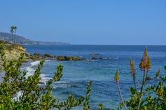 Laguna strand Vreedzame Oceaankust royalty-vrije stock foto's