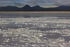 Laguna Tebinquiche perto de San Pedro de Atacama Foto de Stock
