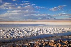 Laguna Tebinquinche landscape in San Pedro de Atacama, Chile Stock Photo