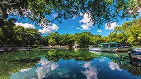Laguna Tid schackningsperiod stock video
