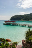 Laguna tropical Imagenes de archivo