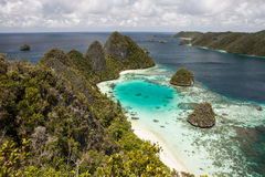 Laguna tropical Imagen de archivo
