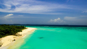 Laguna tropical Fotos de archivo