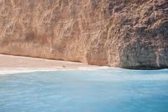 Laguna tropical del agua azul Foto de archivo libre de regalías