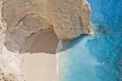 Laguna tropical del agua azul Imagen de archivo libre de regalías