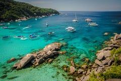 Laguna tropical exotique images libres de droits