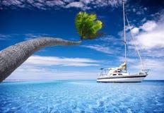 Laguna tropicale fotografia stock libera da diritti