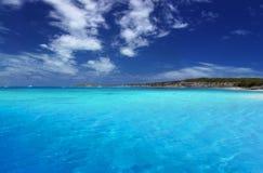 Laguna tropicale immagine stock libera da diritti