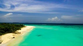 Laguna tropicale fotografie stock