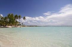 Laguna tropicale Fotografie Stock Libere da Diritti