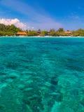laguna tropikalna Zdjęcie Royalty Free