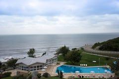 Laguna turist- hotell - Santa Catarina - Brasilien arkivfoton