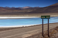 Laguna Tuyaito - Atacama Desert - Chile Stock Photos