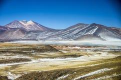 Laguna Tuyaito - Atacama Desert - Chile Stock Image