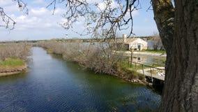 Laguna veneciana foto de archivo