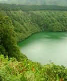 Laguna verde Fotografía de archivo libre de regalías