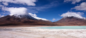 Laguna Verde Photo stock