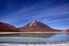 Laguna Verde, Bolivië Royalty-vrije Stock Foto's