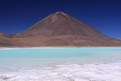 Laguna Verde, Bolivia Royalty Free Stock Images