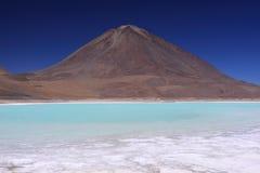 Laguna Verde, Bolivia Imágenes de archivo libres de regalías