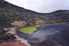 Laguna verde dell'acqua Immagini Stock Libere da Diritti