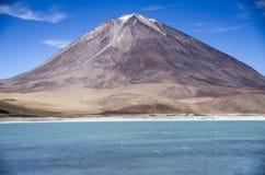 Laguna Verde, Salar de Uyuni, Βολιβία Στοκ φωτογραφία με δικαίωμα ελεύθερης χρήσης