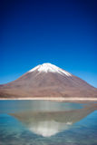 Laguna Verde. Is a salt lake at the foot of the volcanos Licancabur and Juriques - Eduardo Avaroa Andean Fauna National Reserve, Bolivia Stock Photography