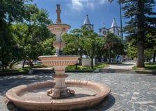Laguna Vidal Ramos Plaza Brazil Stock Photography