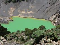 Laguna Volcan Imágenes de archivo libres de regalías