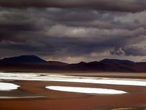 Altiplano blisko Uyuni Fotografia Royalty Free