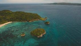 Laguna z turkus wodą zdjęcie wideo