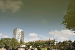 Laguna złudzenia, tomas garrido canabal parkowy Villahermosa, Tabasco, Meksyk Zdjęcie Stock
