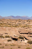 Lagunas. Miscanti and Meniques in Atacama desert near Andes Stock Images