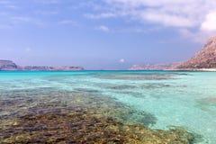 Lagunas de la turquesa Fotografía de archivo