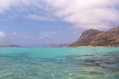 Lagunas de la turquesa Fotos de archivo libres de regalías