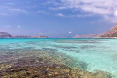Lagunas de la turquesa Imágenes de archivo libres de regalías