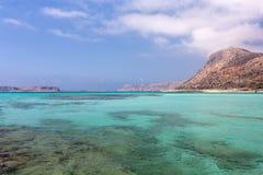 Lagunas de la turquesa Foto de archivo