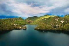 Lagunas DE Montebello, Chiapas Mexico stock afbeelding