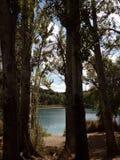 Lagunas de Ruidera Ισπανία στοκ εικόνα με δικαίωμα ελεύθερης χρήσης