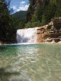 Lagune in Bergua Stock Afbeeldingen