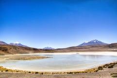 Lagune bij de hooglanden Stock Afbeelding