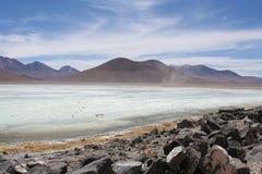 Lagune blanche photo libre de droits