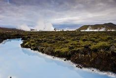 Lagune bleue Photos libres de droits