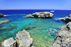 Lagune bleue photos stock