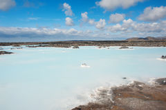 Lagune bleue Photo libre de droits