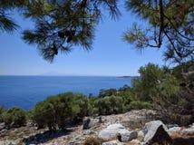 Lagune bleue Photo stock