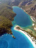 Lagune bleue en Turquie Photos libres de droits